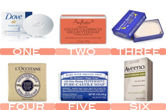 Yes, bar soap is still a thing and it is wonderful -- The Six Best Bar Soaps, ever.