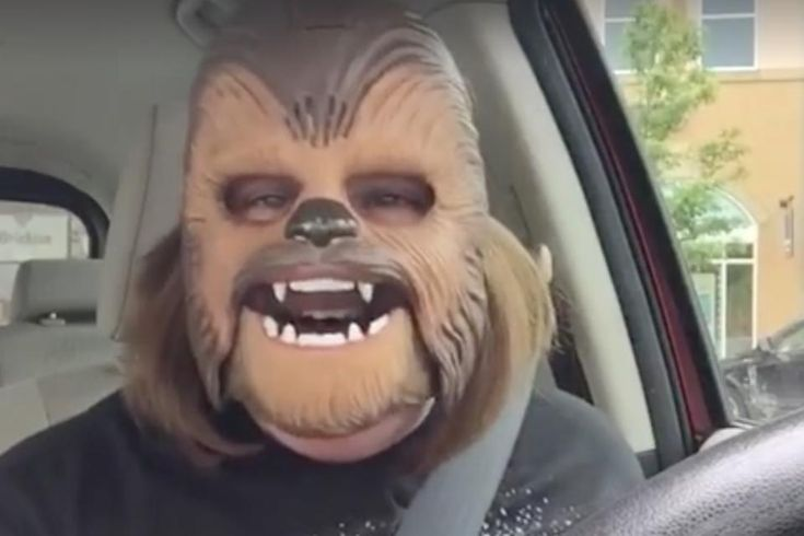 10 Life-Affirming Things We Learned From Candace Payne, the Happy Chewbacca Mask Mom! #30secondmom