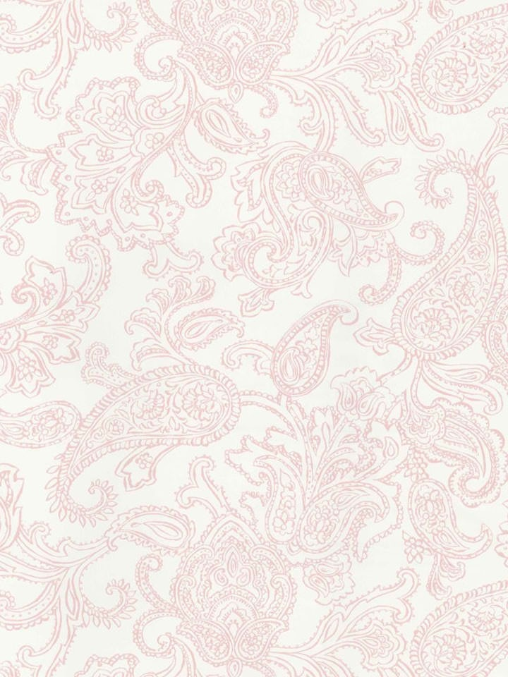 Interior place soft pink jacobean paisley wallpaper 29 for Paisley wallpaper