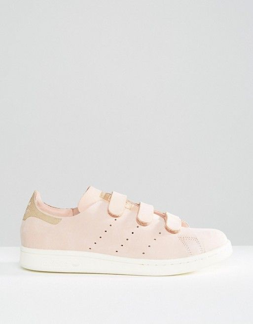 Adidas | Adidas Originals - Stan Smith - Baskets en nubuck avec brides - Rose