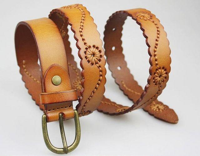 Cinturón en cuero | Flickr - Photo Sharing! Costura artesanal en hilo encerado. $48.000 contacto 3007191348 Colombia