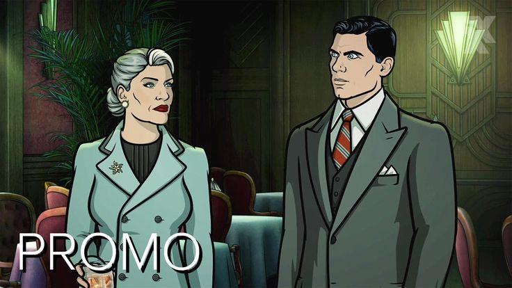 New Archer season is Noir themed! Noice!