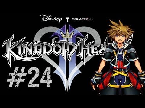 Let's Play Kingdom Hearts 2 (Gameplay/Walkthrough) [Part 24] - HALLOWEEN...