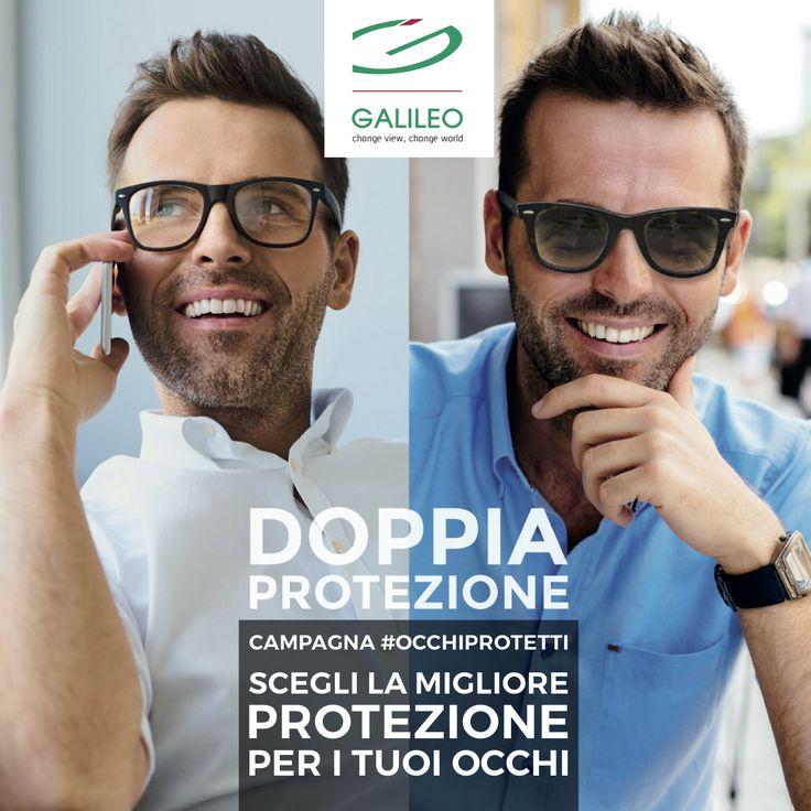 DOPPIA PROTEZIONE #OCCHIPROTETTI #GALILEO!  Condizioni esclusive fino al 31.07.17!  Contattaci per info!  #otticaseveri #otticaseveridal1924 #rimini #occhiali #lenti