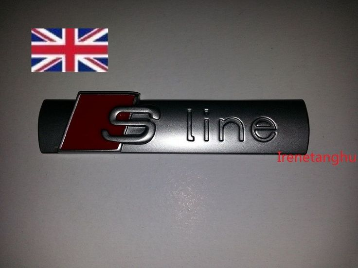 Audi #s-line chrome #metal #badge rear boot emblem s line a 1 2 3 4 5 6 8 q rs ,  View more on the LINK: http://www.zeppy.io/product/gb/2/162313716380/