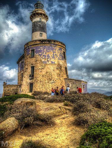 Lighthouse . Sardinia