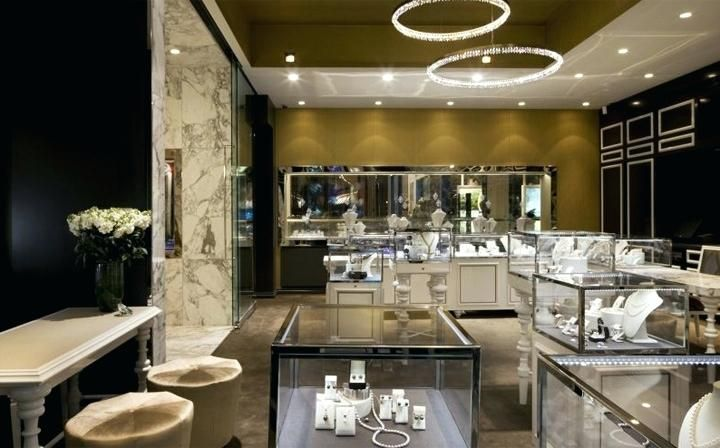 Jewellery Shop Interior Design In Indian Style Fine Jewelry Store