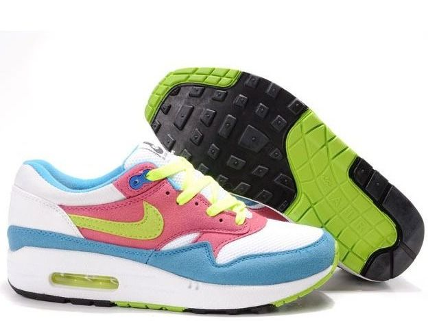 White Red Blue Nike Air Max 1 Infared Women's Shoes You will fall in love  with our cheap Womens shoes at net