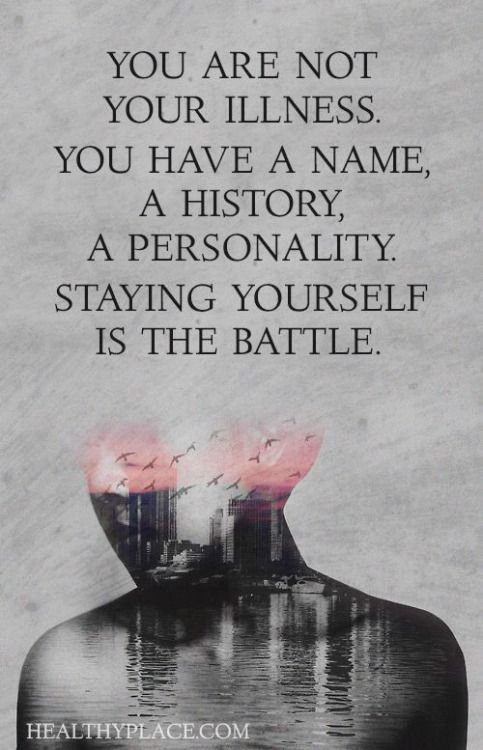 The worst is people forgetting you do have your OWN Personality. Presuming every bit of you is BP