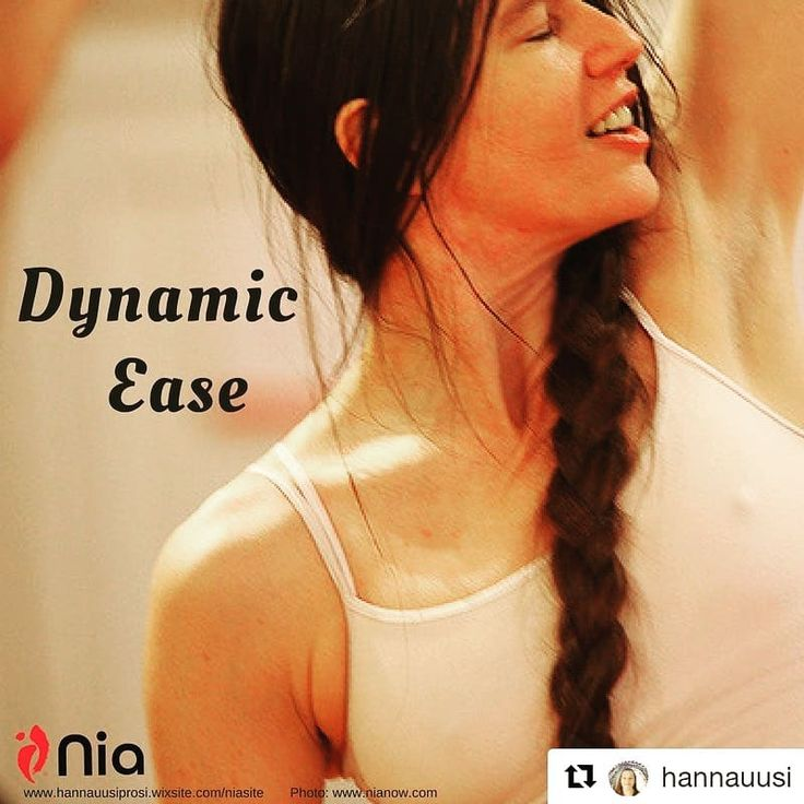 Repost #hannauusi  Nia speak Dynamic Ease  It can either be a stretch as one might do in Yoga or could be the sensation of the muscle squeezing the bone as in an isometric contraction. When doing the routine with Dynamic Ease as the focus and borrowing @debbierosas  words and explain it as: the energy moving out as in flexibility or the energy packing against the bone as in strength. #nia #niaaustralia #dynamicease #flexible #strength #movewithease #sensation #bones #energy  #yoga #livingnia…