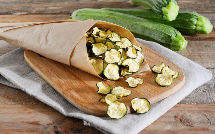 Chips di zucchine ricetta