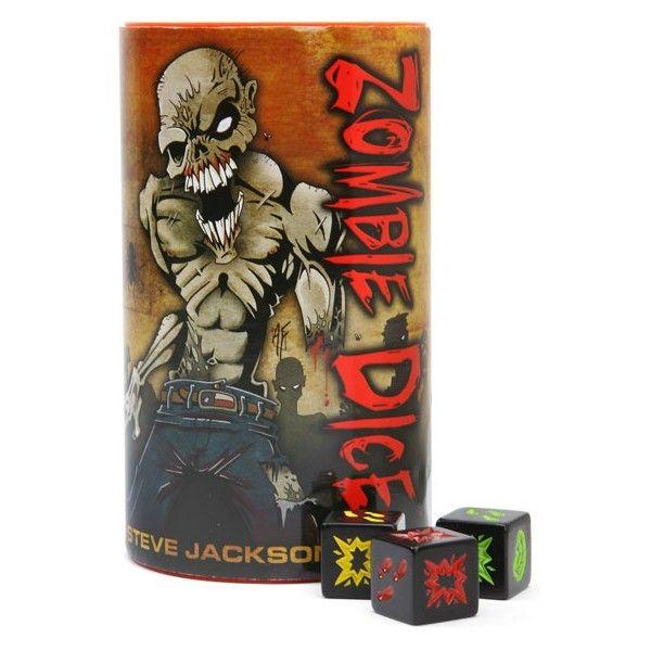 Caixa Do Jogo De Tabuleiro Zombie Dice Zombie Dice Dice Games Games Zombie