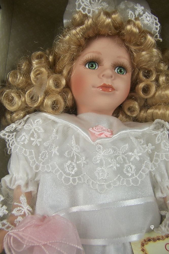 Classic Treasures Fine Bisque Porcelain Doll Collectible