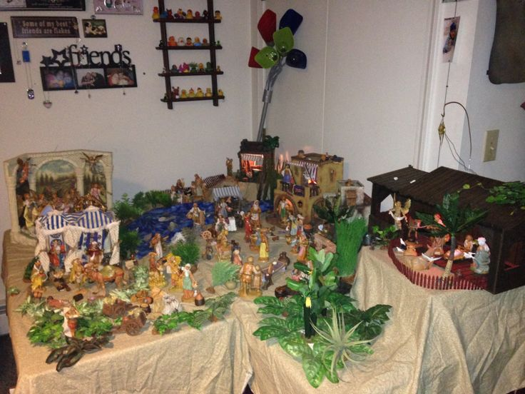 Submitted by Kris in VT: My grandfather wanted something he could buy for me every year for Christmas and would be meaningful so he started me with a nativity. He takes great pride in showing off pictures of it to everyone. I set it up every year and then he comes to my house and we rearrange and take lots more pictures. Then we will look online and find more pieces that would be perfect for my collection.