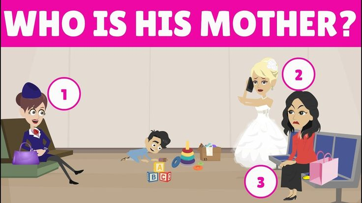3 RIDDLES POPULAR ON CRIME -  WHO IS THE REAL MOTHER - CAN YOU SOLVE IT?