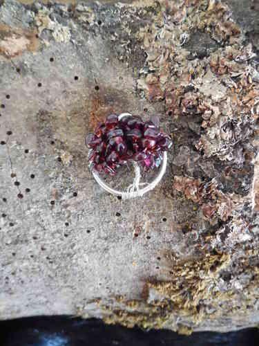 Levensboom hangertje met Granaat blaadjes -Secrets of Gaia