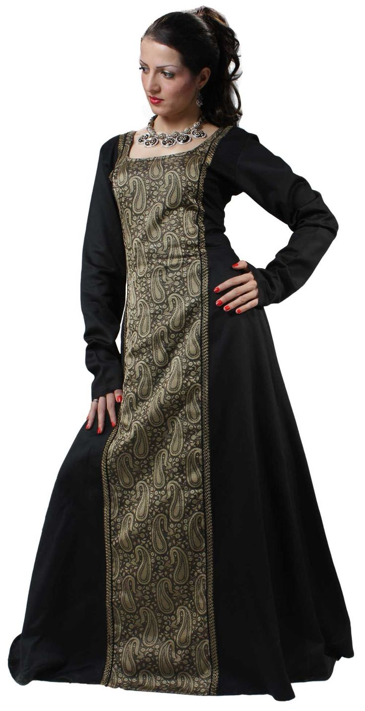 ThePirateDressing Medieval Renaissance Pirate Arabella Dress Gown: Amazon.co.uk: Clothing