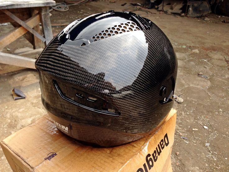 NOLAN Carbon coating Helmet By #aeromotiveindustry