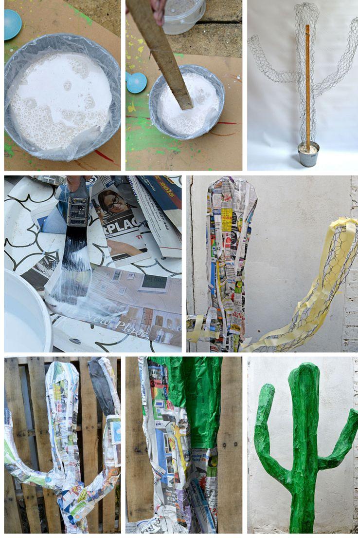 17 best images about paper mache on pinterest nancy dell for Diy paper mache owl