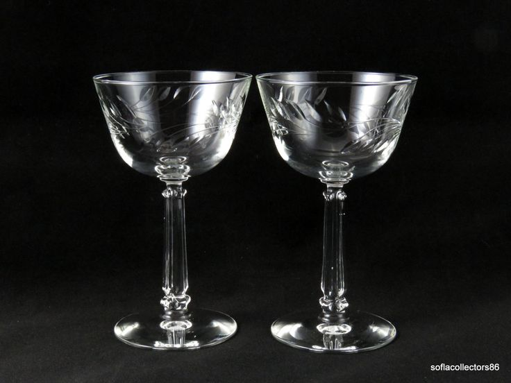 Very 137 best Vintage Elegant Stemware-Champagne Flutes, Coupes, and  GI39