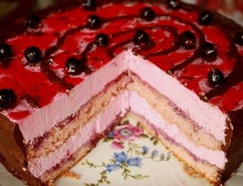 Торт смородиновый «Каприз»
