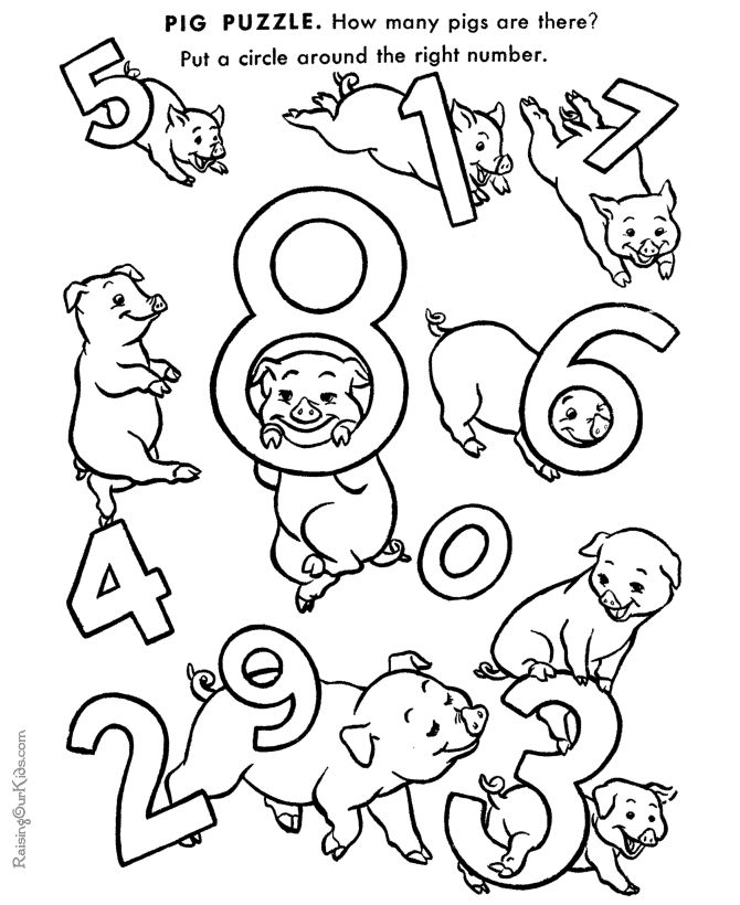 preschool printables for kids 019 these free printable learning numbers coloring pages are fun for kids
