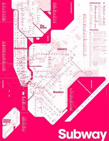 nyc: subway map