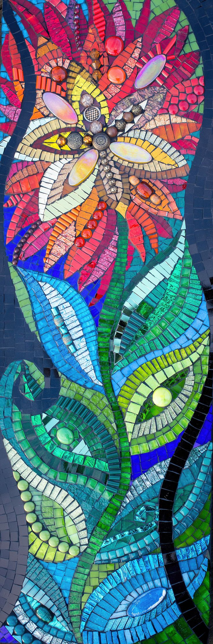 Colour has always been at the heart of every piece of artwork I have ever  created from simple drawings to my most elaborate mosaic pieces.