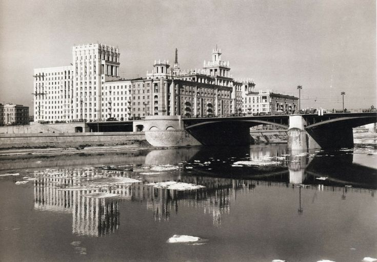 Dogomilov embankment, 1955