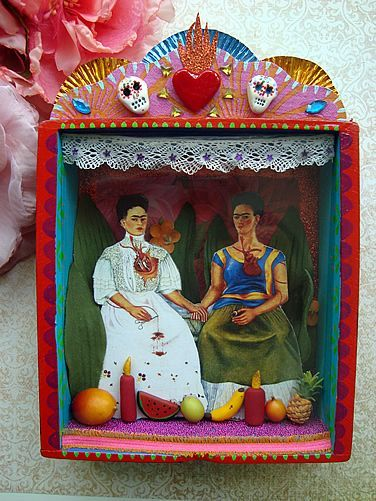 Frida Kahlo shrines pinterest - Google Search