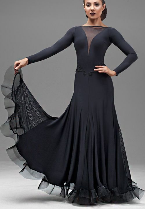 Chrisanne Mesmerize Ballroom Dance Dress| Dancesport Fashion @ DanceShopper.com
