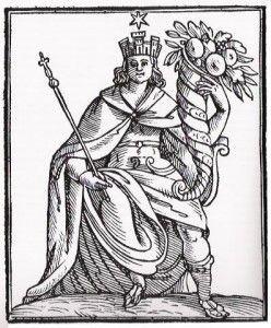 La personificazione dell'Italia, Cesare Ripa (1550 ca.-1622)