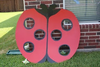 Lady Bug Birthday Party. Maybe Papa can make this?