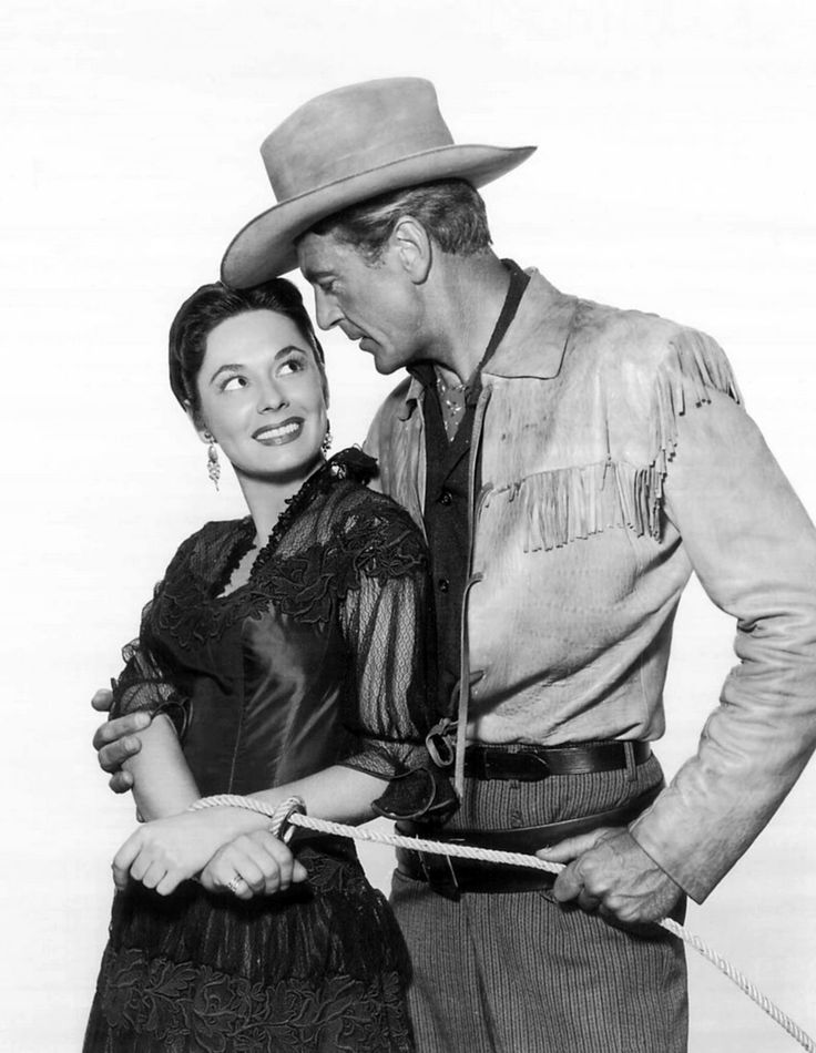 Gary Cooper with Ruth Roman
