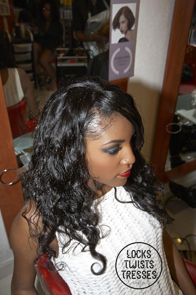 Tissage Cheveux Pose De M 232 Ches Br 233 Siliennes Ondul 233 Es