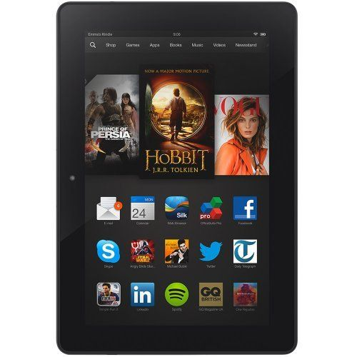 """Kindle Fire HDX 8.9"""", HDX Display, Wi-Fi, 16 GB - Includes Special Offers by Kindle Fire, http://www.amazon.co.uk/dp/B00D3UMEHQ/ref=cm_sw_r_pi_dp_FqWptb0JEM5EE"""