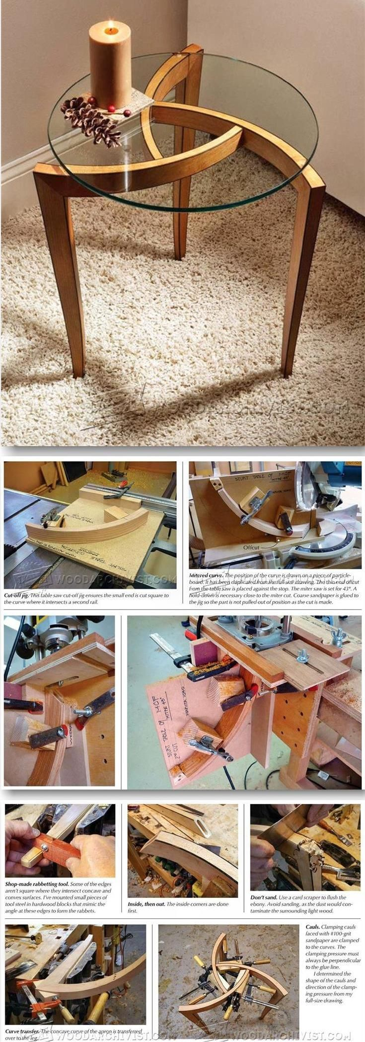 Occasional Table Plans   Furniture Plans and Projects   WoodArchivist com. Best 25  Woodworking furniture ideas on Pinterest   Diy furniture