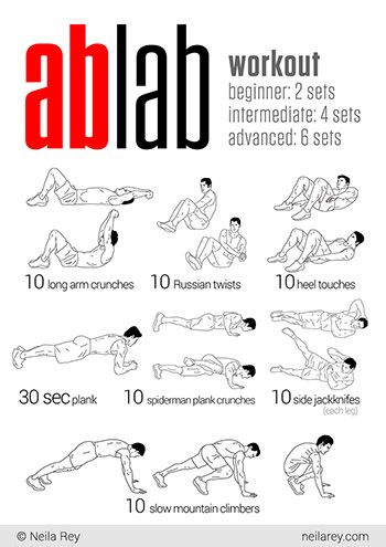 73 best core workouts images on pinterest