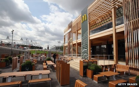 IOC takes heat for selling sponsorship of 2012 Olympics to marketers of unhealthful products such as McDonald's