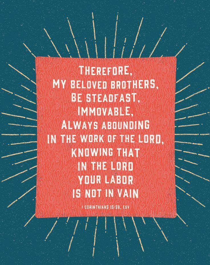 His Word - Typographic Verses