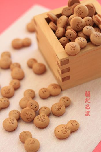 Japanese sweets / 福だるま(Fukudaruma)