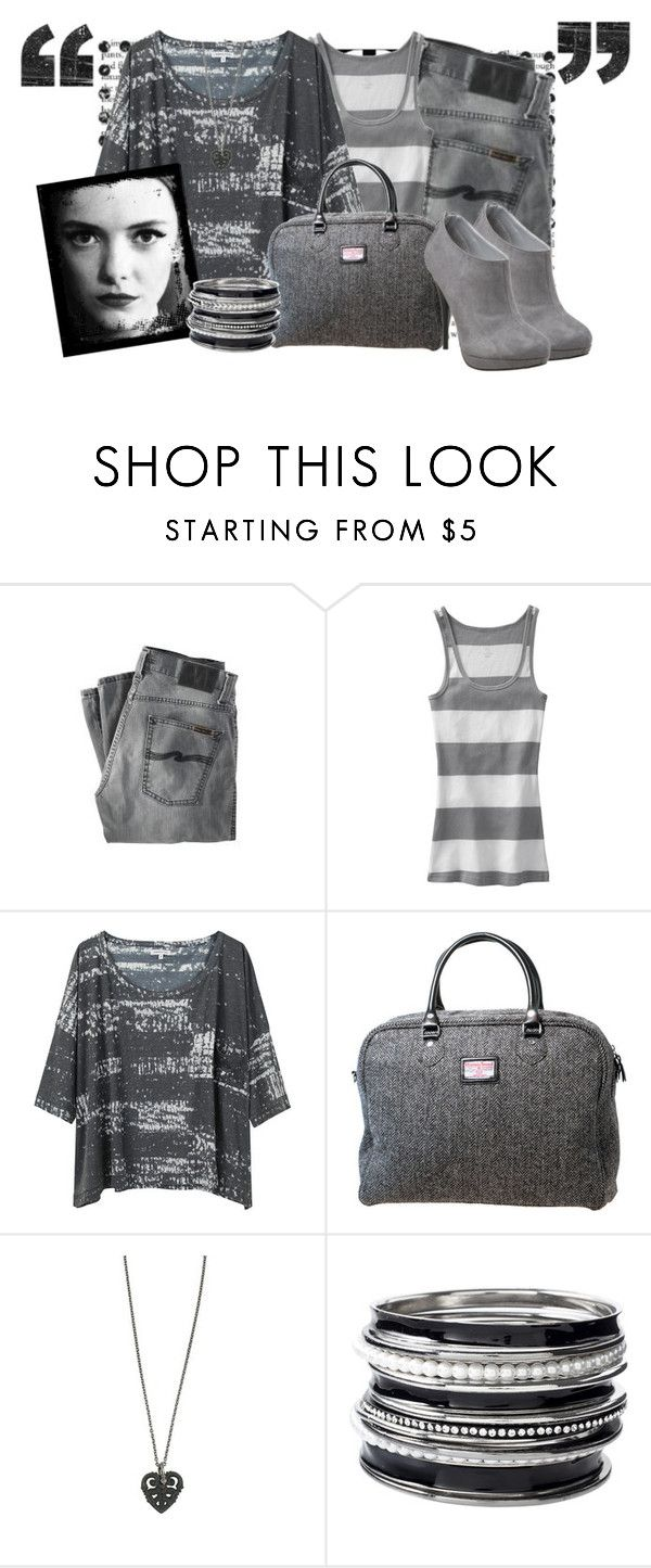"""""""gray day(:"""" by cherrybomb101 ❤ liked on Polyvore featuring Nudie Jeans Co., Old Navy, Surface To Air, Laurel Wreath Collection, NYMPHENBURG, Oasis, Michael Antonio and gray"""