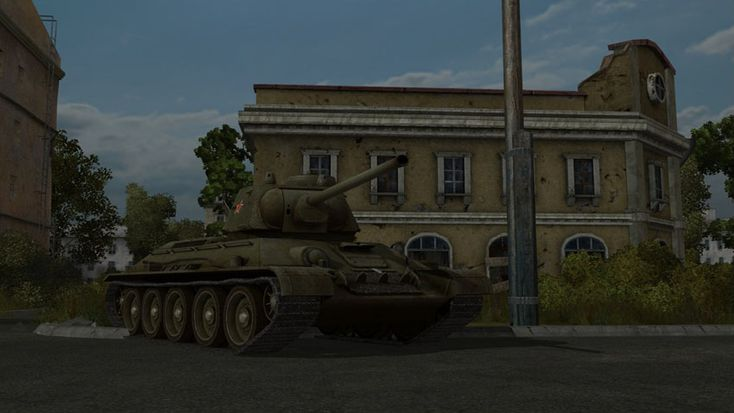 3D model for WoT Screens form game 02