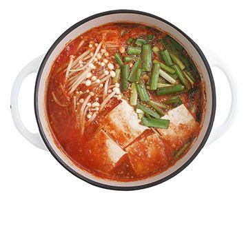 トマトチゲ鍋の作り方・レシピ   暮らし上手