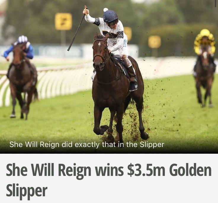 She Will Reign - Golden Slipper 2017 Winner