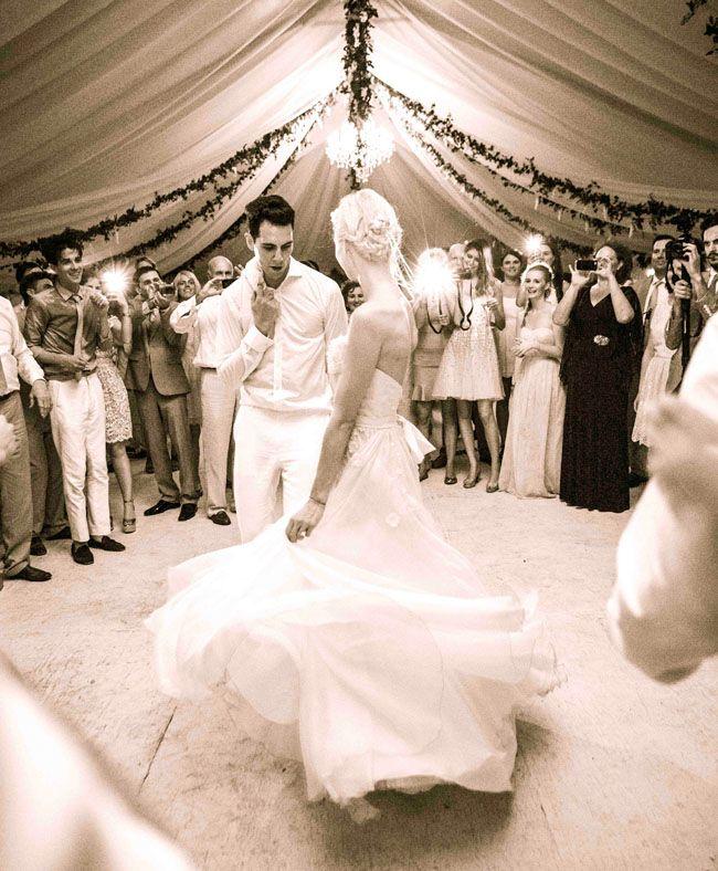 Erin Fetherston + Gabe Saporta's Fairytale Barbados Wedding