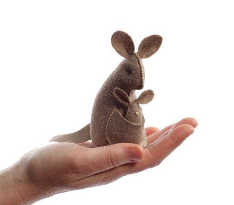 Clementine — Hand Stitching Kit ~ Kangaroo.  So sweet!