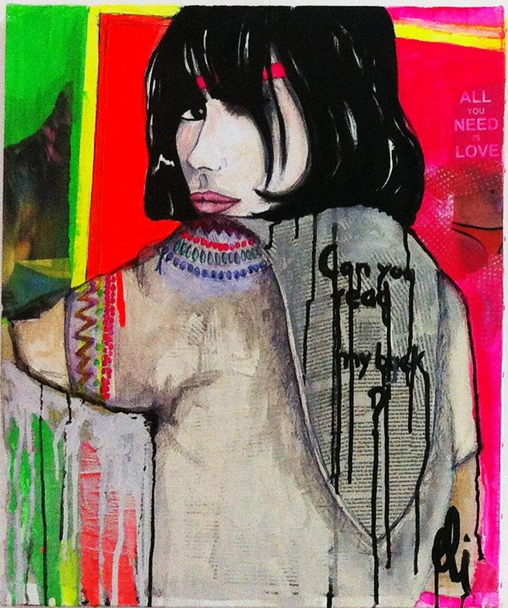 THE DISCO GIRL by Eli Grita