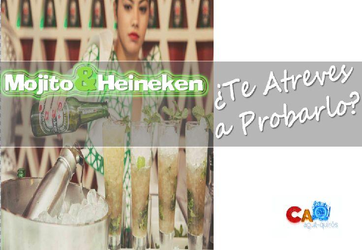 Mojito & Heineken. ¿Te atreves a probarlo? Nuevos usos para la cerveza.