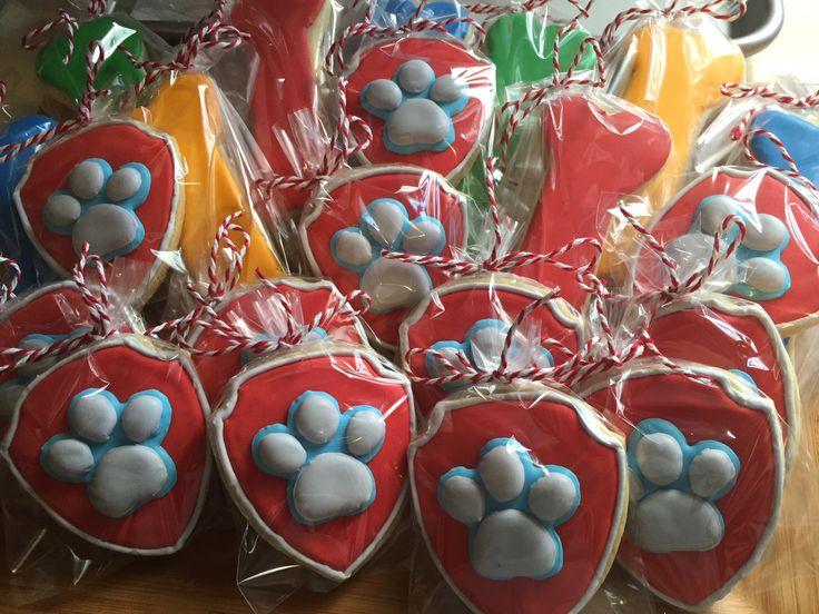 Paw Patrol Sugar Cookies by The Green Lane Baker